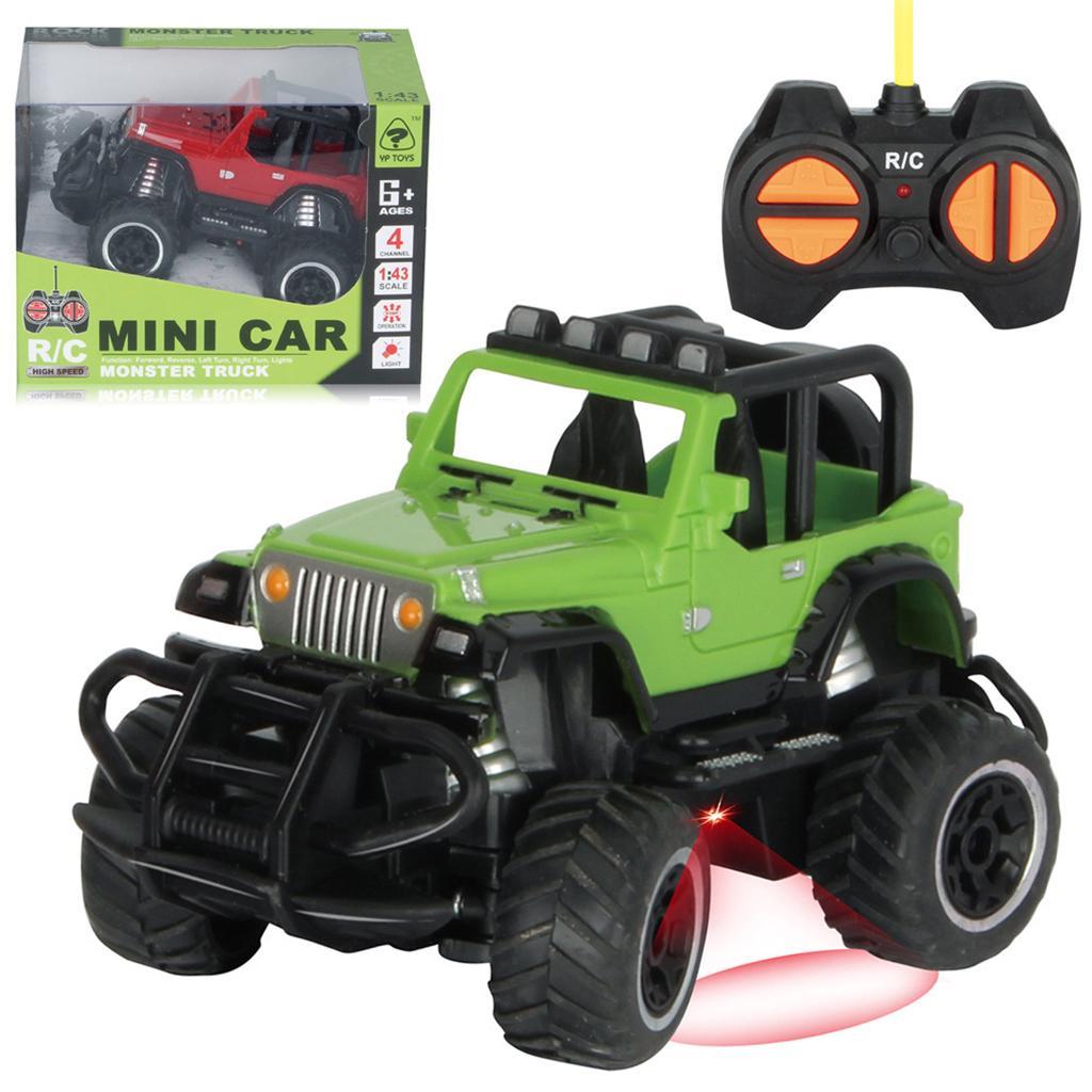 1:43 Scale Metal Mini Car Vehicle F RC Racing Car Rock Crawlers Boys Toys Electr