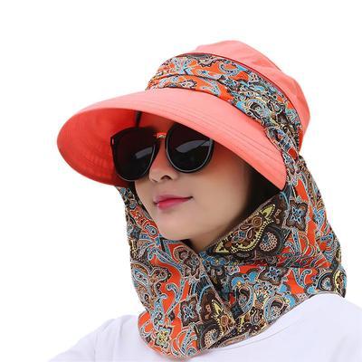 5e0f6a5773d056 Fashion Women Summer Czapki Daszki przeciwsłoneczne Czapka składana anty-UV  Outdoor Beach Sport Hat