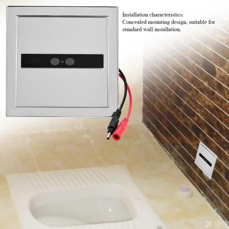 Urine Infrared Sensor Urinal Manual /& Automatic Stool Flush Valve Copper Valve for Hotel Bathroom Toilet Valves Urinal Sensor Flusher
