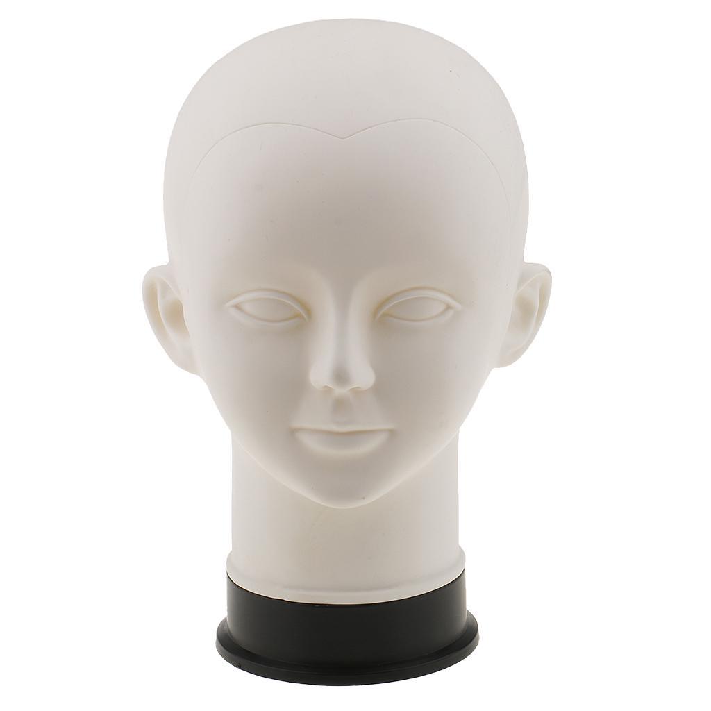 PVC blanco niños maniquíes maniquí cabeza modelo de peluca sombrero ...