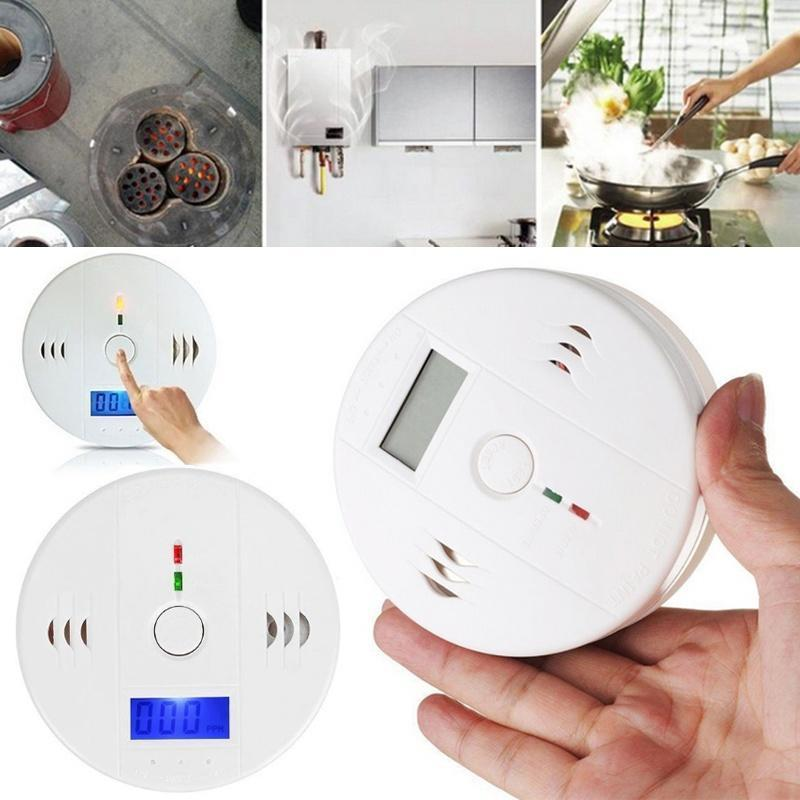 1pc Lcd Display Co Carbon Monoxide Detector Sensor Tester With Sound Light Alarm Warning Hot Back To Search Resultssecurity & Protection Carbon Monoxide Detectors