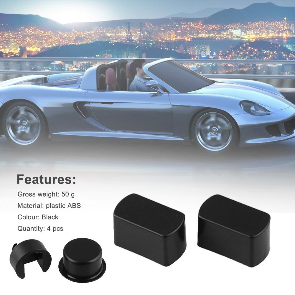 Black Plastic Tailgate Hinge Bushing Insert Kit For Dodge Ram Ford FSeries Truck