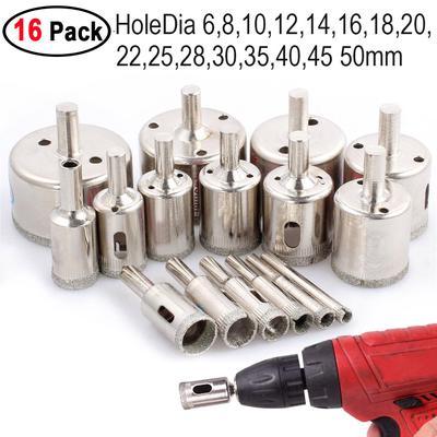 """13PC Revêtement Titane Haute Vitesse Acier 1//4/"""" HEX Shank Twist Drill Bit Set for Metal Outil Électrique"""