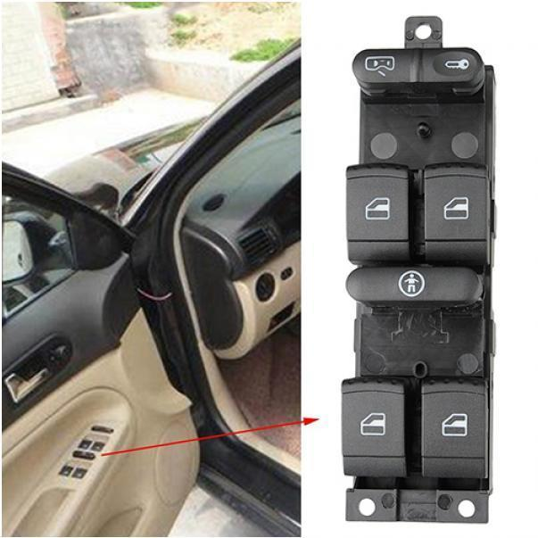 DOUBLE ELECTRIC POWER WINDOW SWITCH BUTTON FRONT FOR VOLKSWAGEN PASSAT 2005-2010