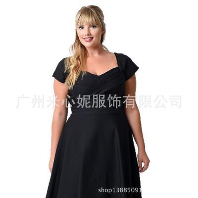 30473261fbb Ткань моды женщин ретро Винтаж 50s рокабилли платье высокой талией короткие  Фиолетовый черный