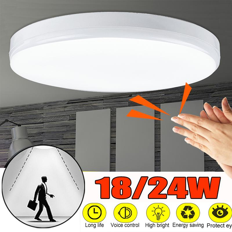 LED Ceiling Light Wall Lamp UFO Round//Square Panel For Light Living Room Kitchen
