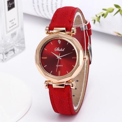 Luxury Vintage Style Lady Matte Rhombus Quartz Soft Wrist Watch Jewelry Women For Female