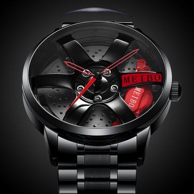Fashion Mens Casual Business Watches Luxury Stainless Steel Waterproof Watch for Men Quartz Wrist Watches Male Clock Reloj De Hombre