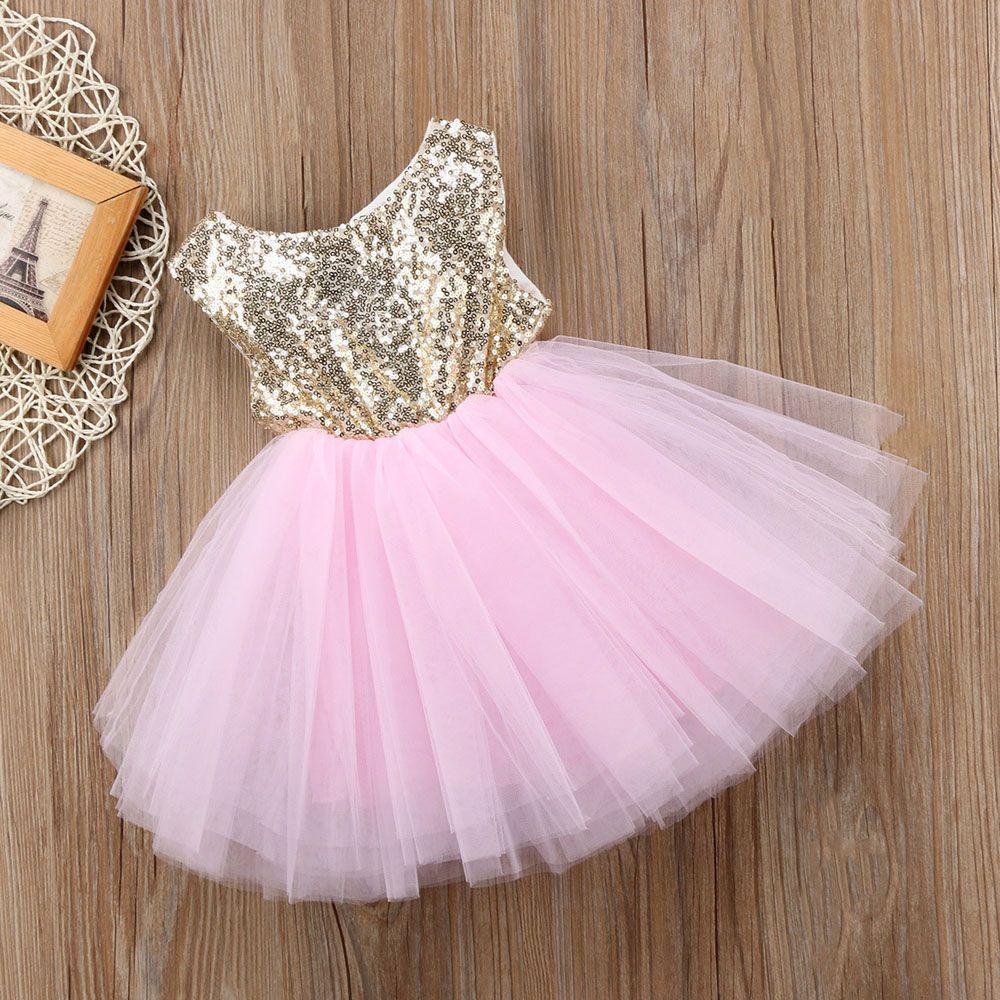 Danza fiesta corazón forma lentejuelas chispa Kids ropa princesa ...
