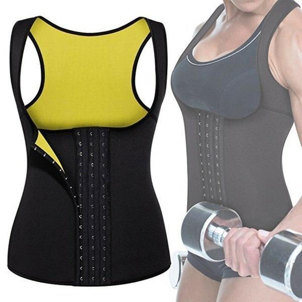 Details about  /Women Waist Trainer Girdle Slimming Belt Corset Tummy Control Sauna Sweat Vest