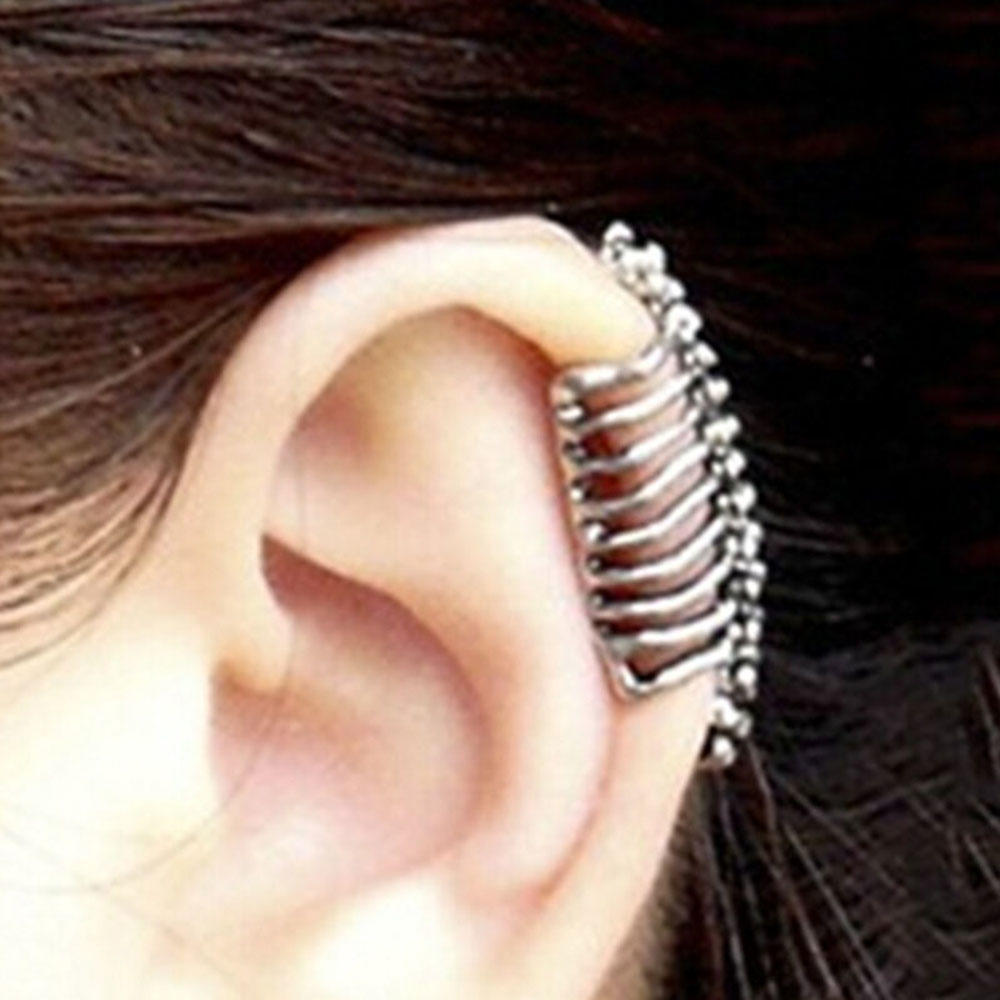 NON PIERCING CLIP ON FAKE BODY JEWELLERY FOR FANCY DRESS PUNK /& GOTH LOOK