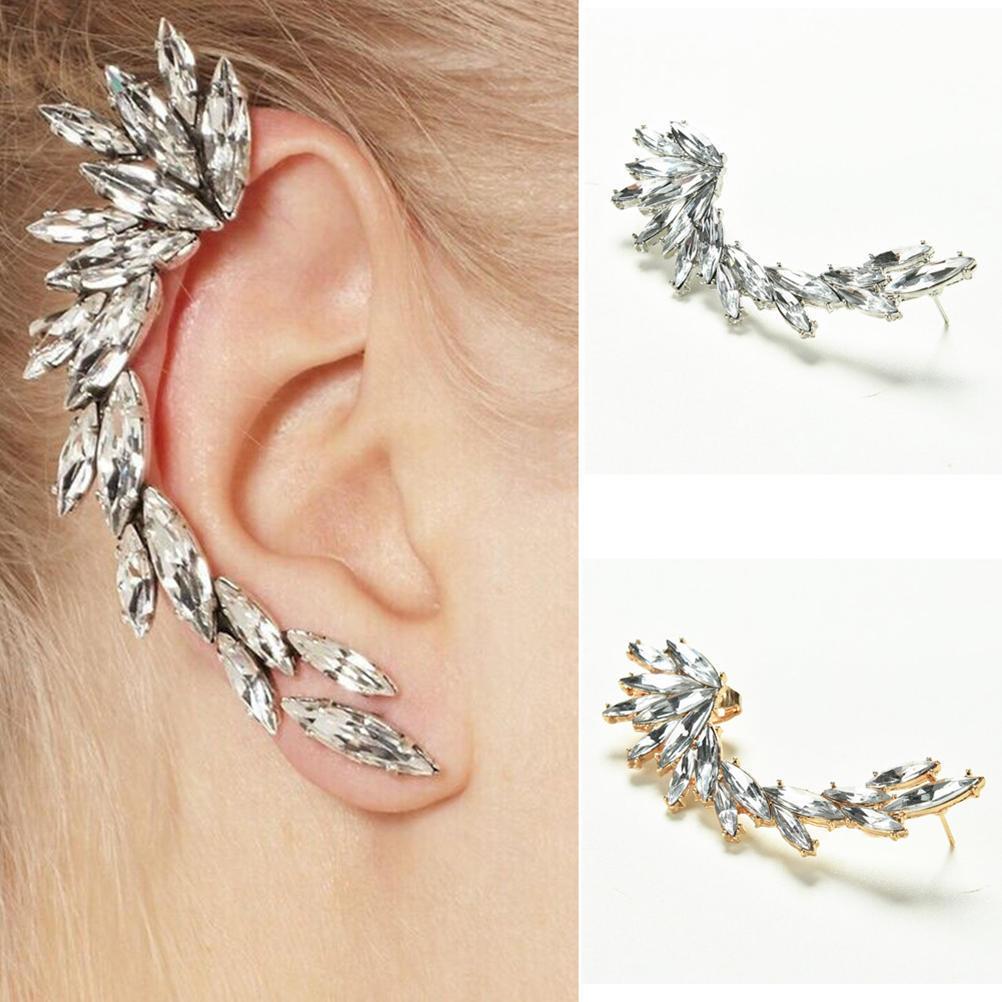 NEW Starfish Ear Wrap Star Earring Cuff Punk Earrings Stud Clip On Fashion Gift