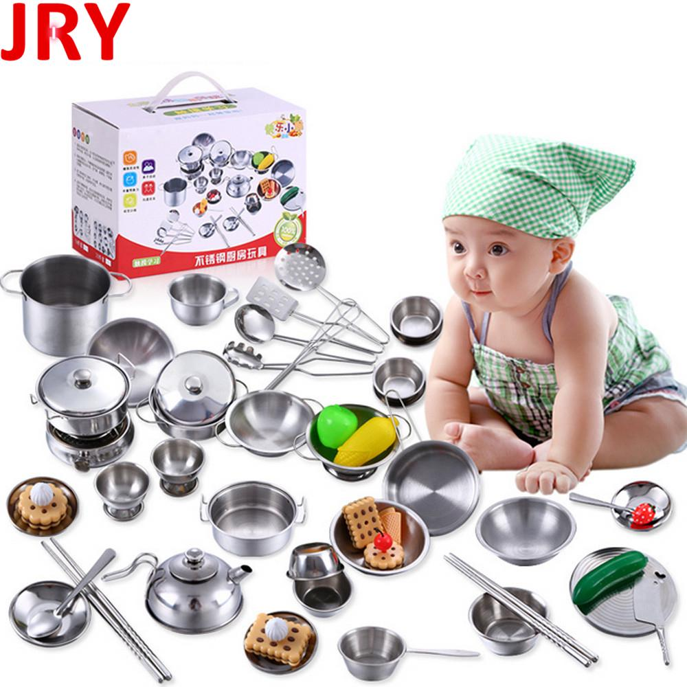 Kids Play and Learn Food Safe Real Mini Cooking Set metal cookware /& Stove Tiny kitchen Role Playing B-day Xmas Gift Toy