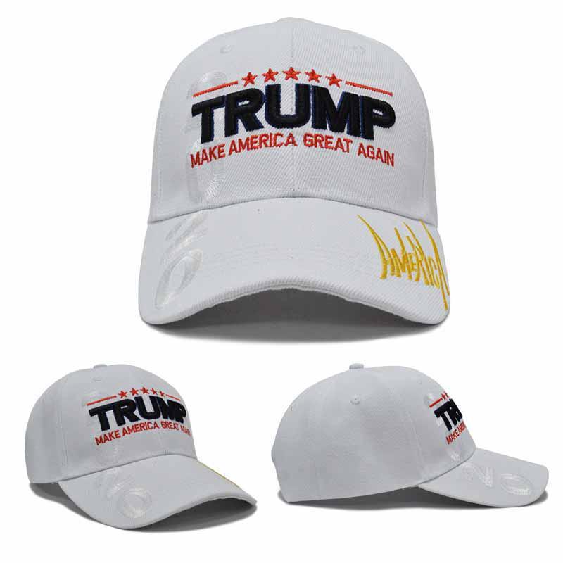 Sun Hat Trump 2020 Adjustable Unisex Hip Hop Cute Cap