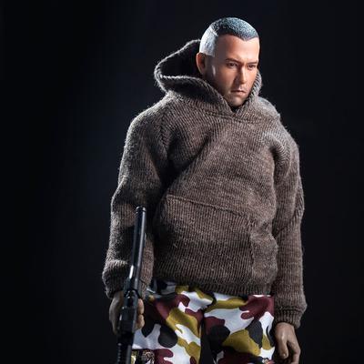 1:6 Male Hooddie Vest Suit Costum for Action Figures Doll Accessories DIY