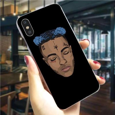 xxxtentacion rap plastic phone cover for iphone 6 plus case 7 xr x 8 5 6s 5s se xs max buy at a low prices on joom e commerce platform iphone 6 plus case 7 xr x 8 5 6s 5s se