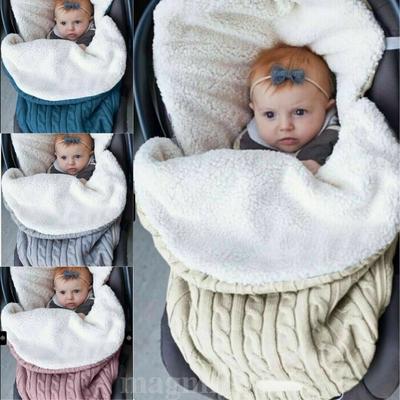 Autumn Winter Warm Baby Sleeping Bag Sleep-sack For Stroller Soft Sleeping