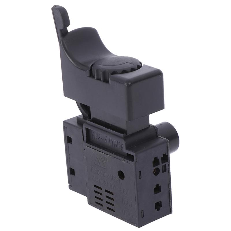 AC 250V//10A 125V//15A Replacement SPST On-Lock Electric Tool Trigger Switch