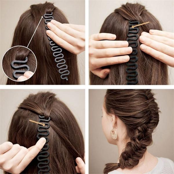 10Pc Pro Women Magic Braider Hair Twist Styling Clip Stick Bun Maker Braid Tool!