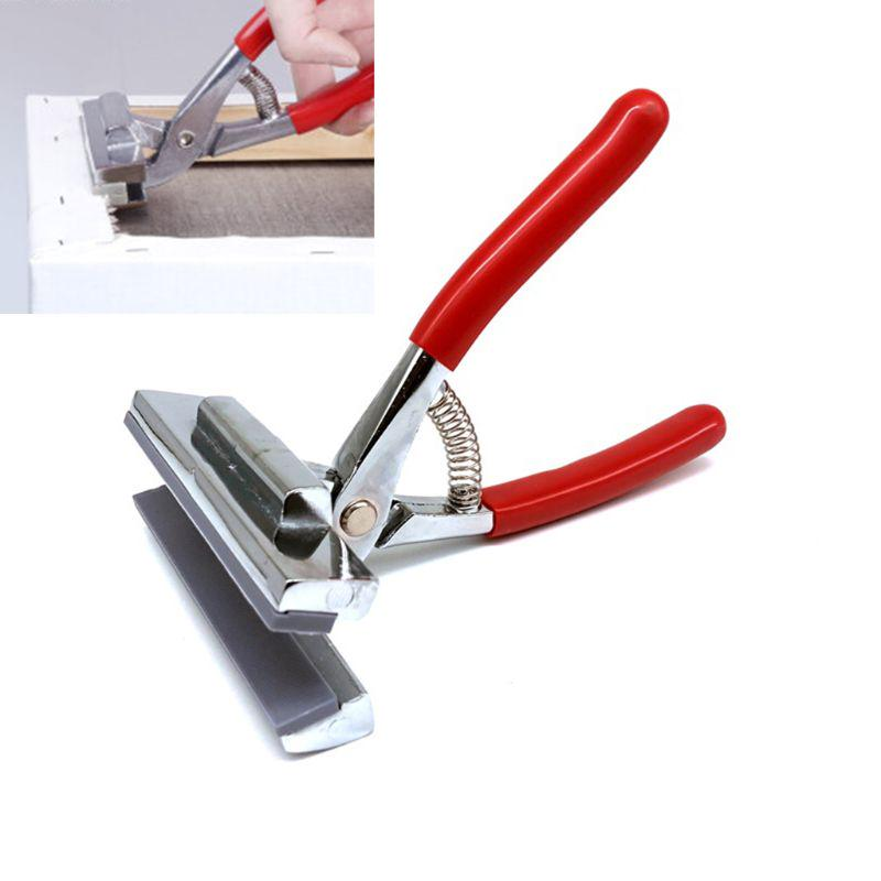 120mm Red Canvas Plier Wide Head for Stretching Professional Canvas Tool