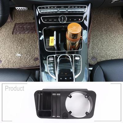 AUTO Pro for Mercedes-Benz C-Class W205 GLC X253 E-Class W213 Mobile Phone Tray Plastic Center Console Storage Box Cup Holder