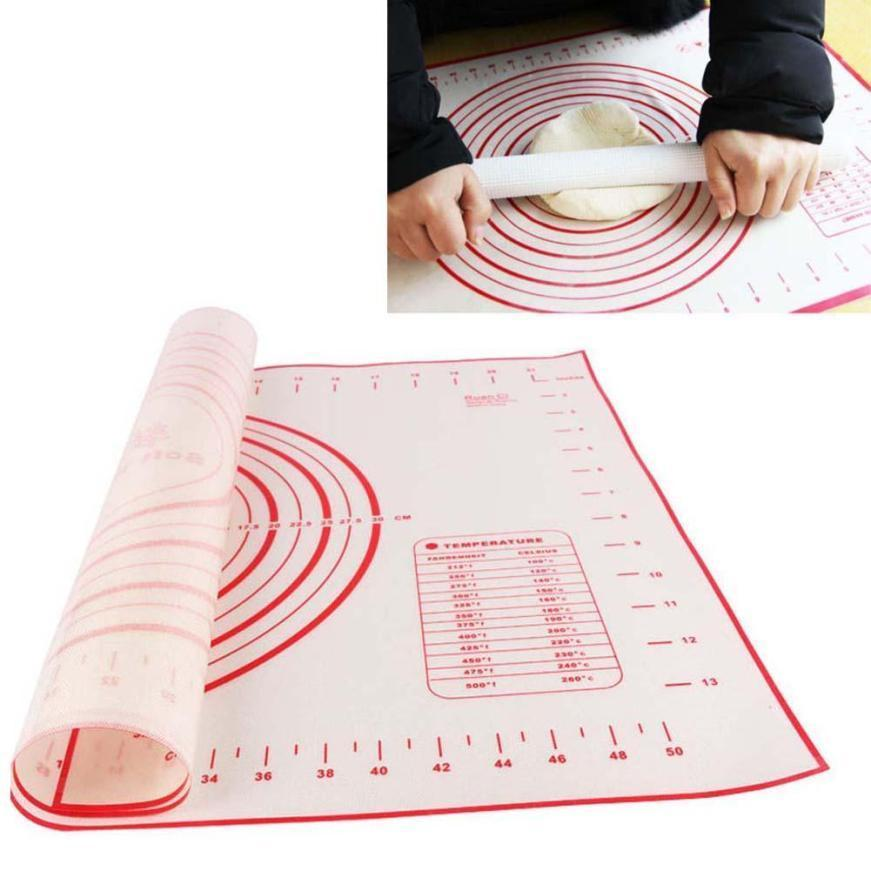 New Non Stick Silicone Baking Mat Kneading Dough Mat Baking Rolling Pastry Mat Bakeware Liners Pads Buy At A Low Prices On Joom E Commerce Platform