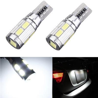 10X T10 LED Standlicht Fehlerfrei 6SMD Seitenlicht Beleuchtung Lampe Weiß Birne