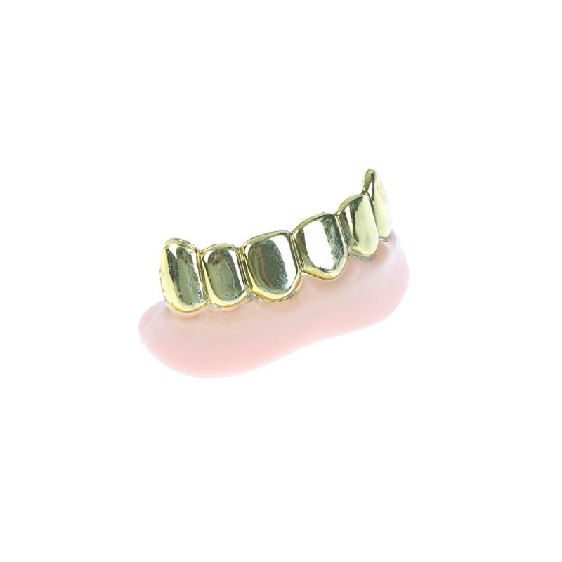 1pc Bling Grill Grillz Fake Teeth Bulk Halloween Birthday Party Gold Silver  C¾T