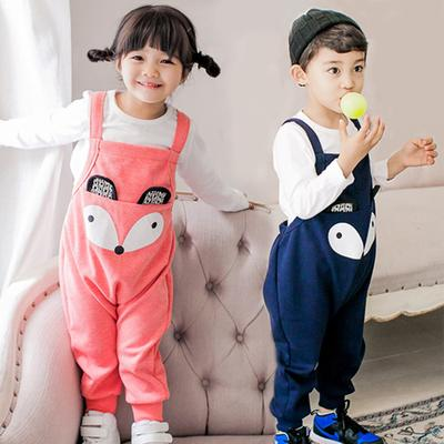 a467fac66 Toddler Kids Girl Boy Overalls Baggy Harem Pants One Piece Romper ...