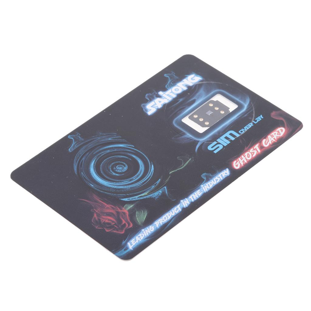Perfect Unlock Turbo Sim Card Saitong Ghost for iPhone X 8 7 6S 6+ ... 65561811ee
