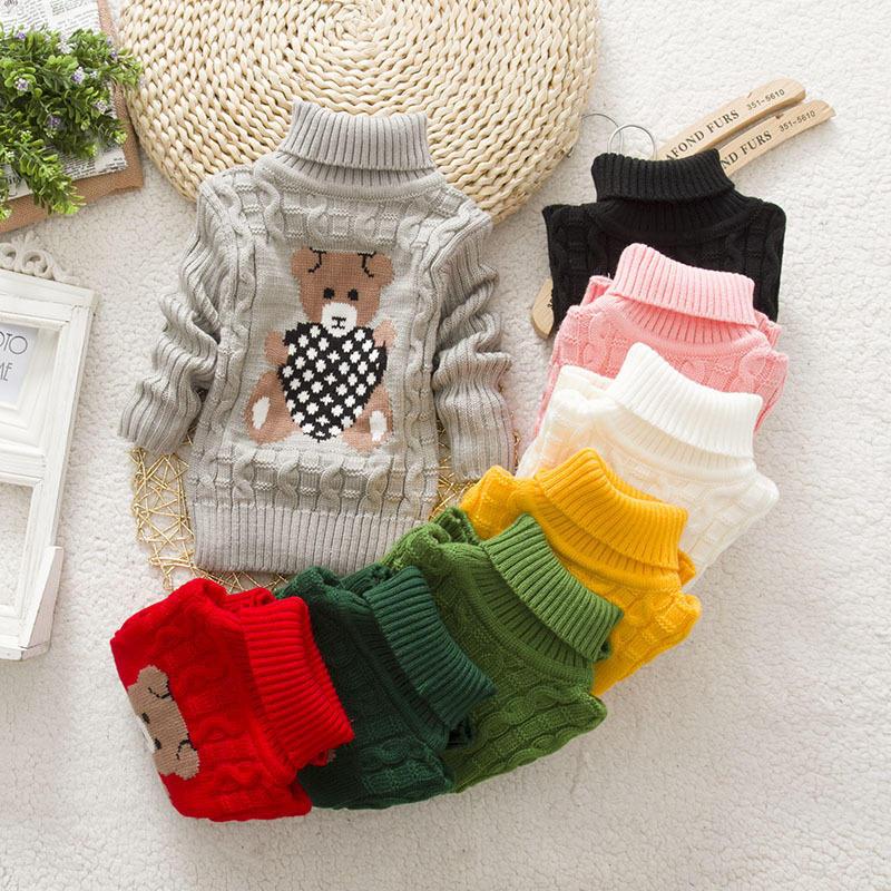 cbff1b7d685 Baby iarna copii copii desene animate pulover tricotate îmbrăcăminte ...
