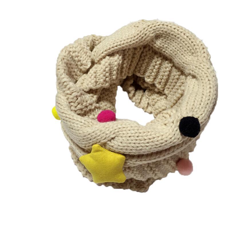 Niños de invierno de punto infinito bufanda lana bucle bufanda niños ...