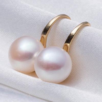 Korean Style Classic Temperament Pearl Stud Earrings