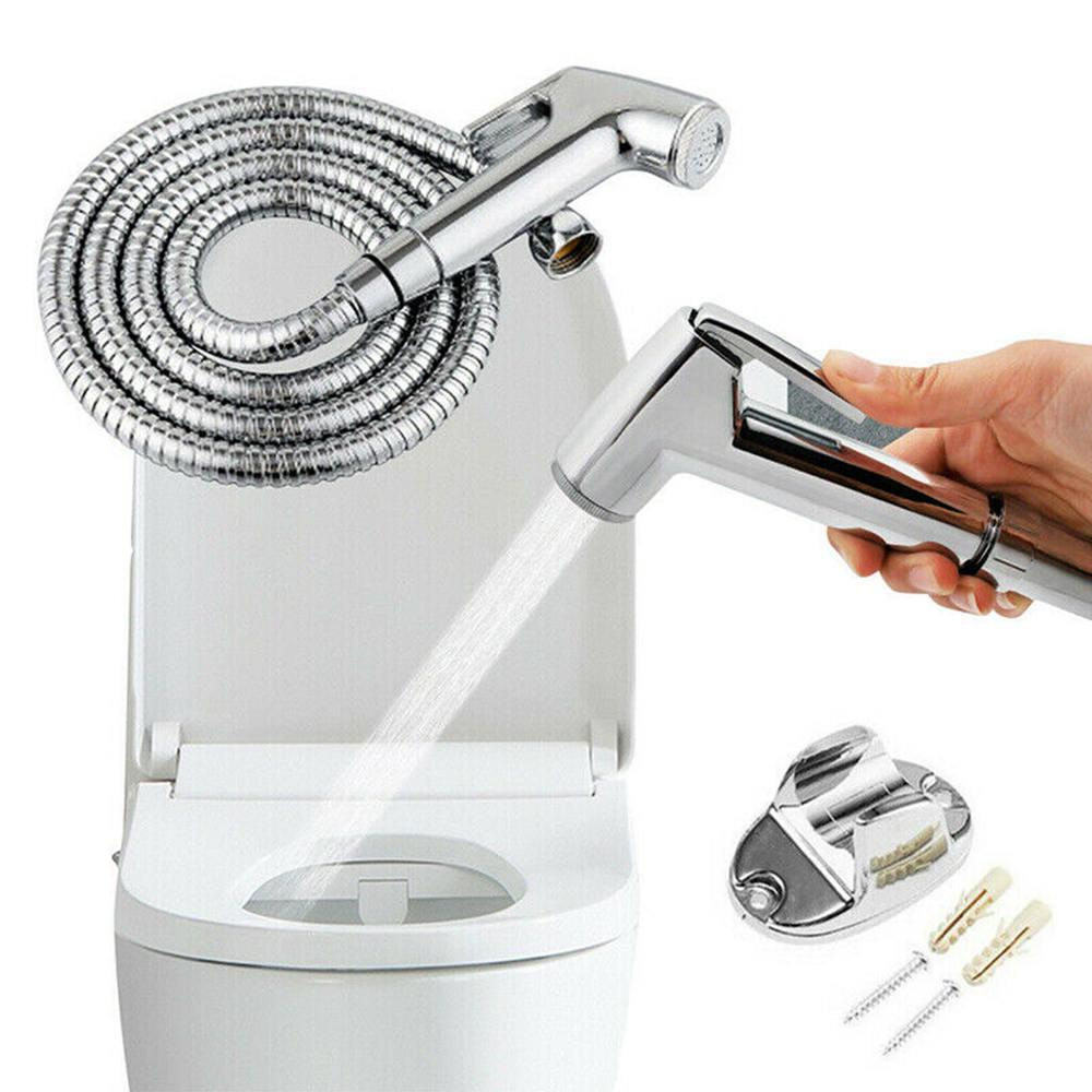Toilet Bidet Sprayer Kit Spray Head Hose Bracket Handheld Bathroom Attachment Buy At A Low Prices On Joom E Commerce Platform
