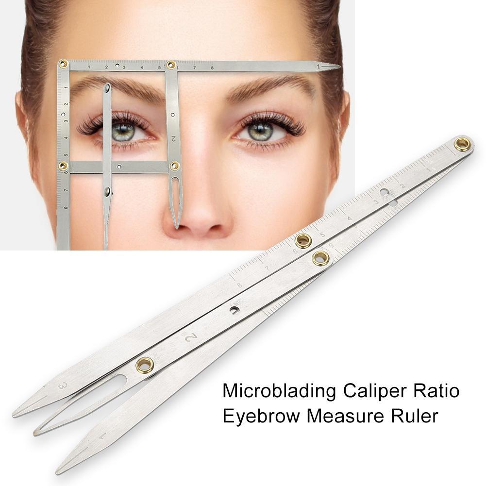 Microblading Caliper Ratio Eyebrow Measure Ruler Permanent Makeup Stencil Measuring Tool Buy From 9 On Joom E Commerce Platform