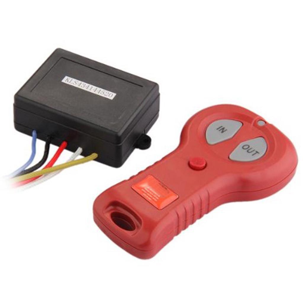 12V-24V Winch Wireless Remote Control Controller Set Kit For ATV Brand New