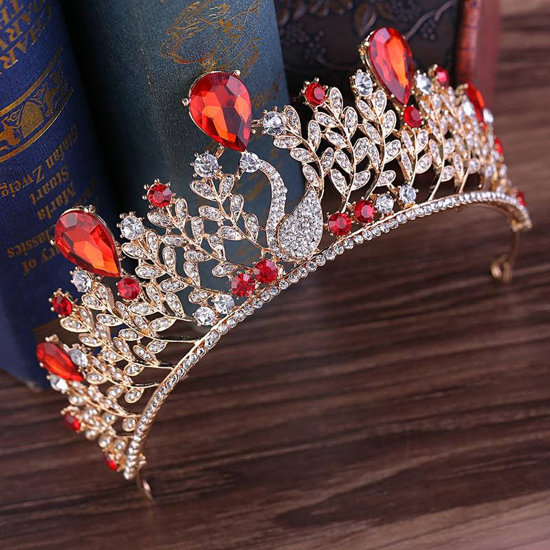 New Bridal Tiara Diamond Chic Rhinestone Crown Wedding Party Prom Headband Crown
