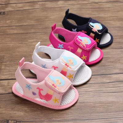 ABC KIDS Children Baby Boys Girls Breathable Anti-Slip Hollow Design Shoes Sandals Toddler Soft Soled First Walkers