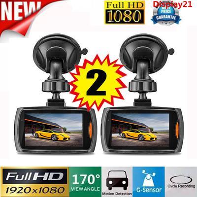 "2.4/"" Dual Camera 1080P HD Car DVR Dash Cam Video Recorder G-Sensor Night Vision"