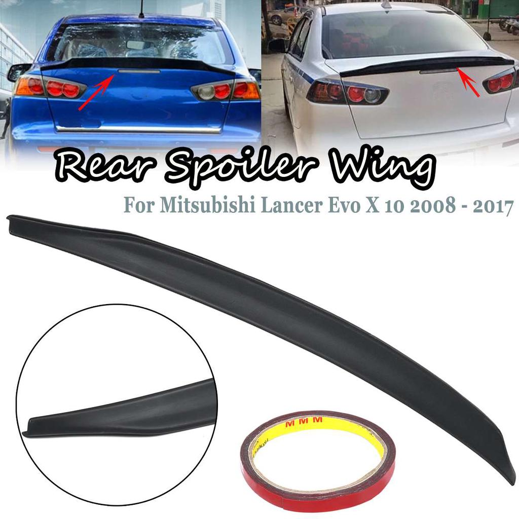 car rear trunk lip spoiler wing black for mitsubishi lancer evo x 10 2008 2017 buy at a low prices on joom e commerce platform car rear trunk lip spoiler wing black for mitsubishi lancer evo x 10 2008 2017