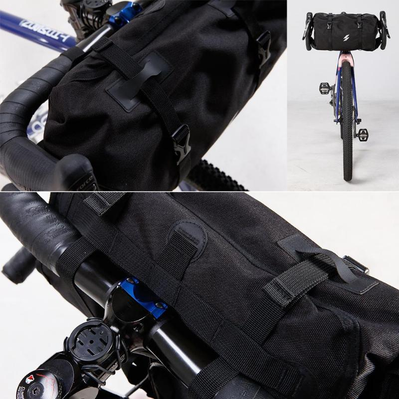 SAHOO 3L Waterproof Bicycle Handlebar Road Bike Front Basket Bag Large Capacity