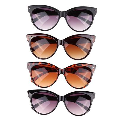 Gato ojo moda tonos marco gafas gafas