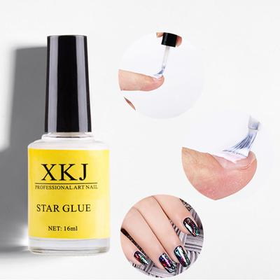 Clear Star Glue For Nail Foil Adhesive Sticker Transfer Paper