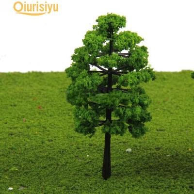 20x Plastic Model Trees For Railroad House Park Street Layout  landscape Toy Pip