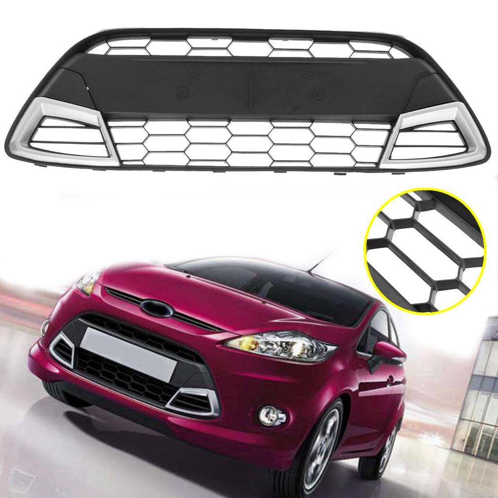 FORD FOCUS MK2 08-11 BLACK FRONT BUMPER LOWER CENTRE GRILLE TRIM PANEL MOULDING