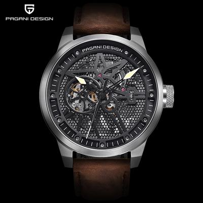 Hombres relojes lujo Top marca LIGE tourbillon mecánico deportivo ... ee146b0eb303