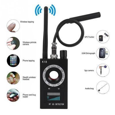 K18 Anti-Bug Detector GSM Audio Bug Finder GPS Wireless