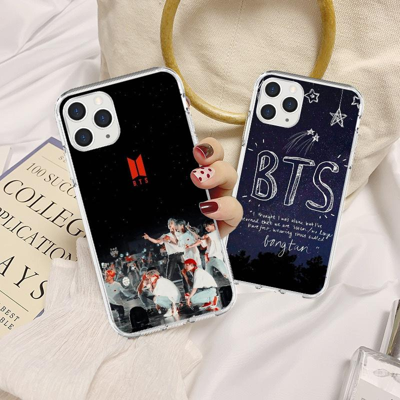 BTS Logo TPU Phone Case Cover for iPhone 6 6S iPhone 6/6S Plus for Samsungs Galaxys 7/8/9-buy at a low prices on Joom e-commerce platform
