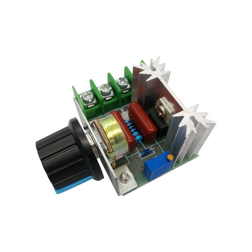 AC 220V 2000W SCR напряжения регулятор яркости диммеры мотора скорость контроллер термостат электронного Vol фото