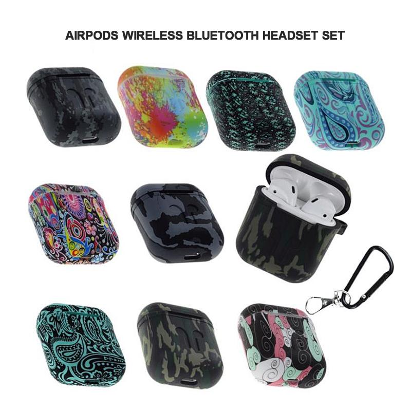 Shockproof Soft TPU Gel Case Cover with Keychain Carabiner for Apple AirPods Medical Your Website Compatible with AirPods 2 and 1